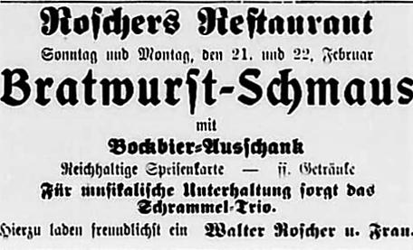 Anzeige in Burkhardtsdorfer Zeitung vom 1932