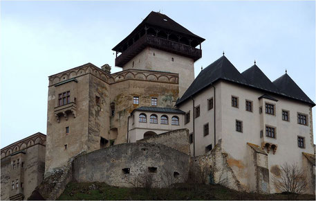 Die Burg Trencin - Bild Pixabay