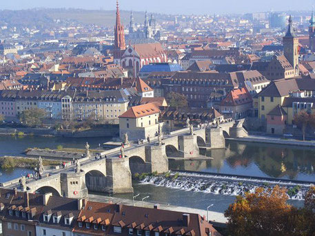 """die """"Alte Mainbrücke"""""""