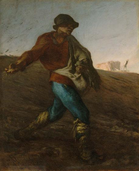 《種まく人》1850年