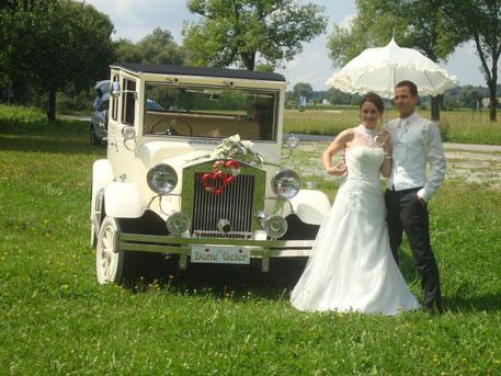"""Hochzeitsauto """" Imperial """""""