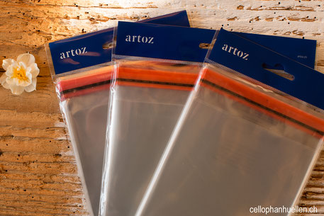 Cellophanhüllen für Karten Cellophanbeutel Schutzhüllen bestellen im Shop C6 C5 B6 quadratisch