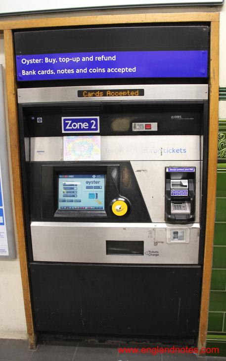 Die wichtigsten Reiseinformationen für London: Wie lade ich die Oyster Card auf