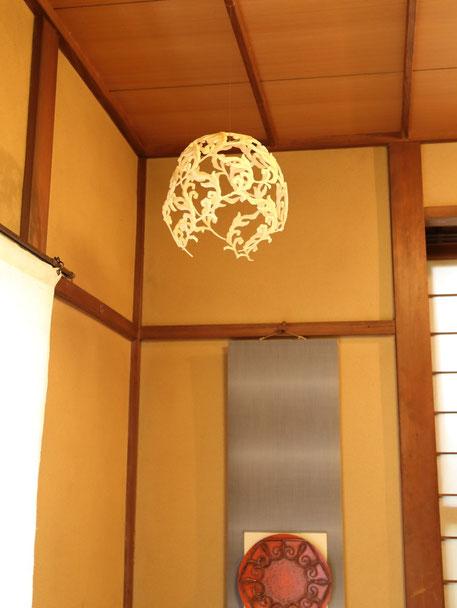 「ツキ」吉田樹人 / 発泡ウレタン     7月2日は満月でした。