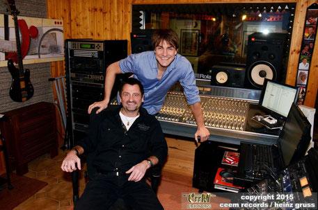 Matze Knop bei uns im Studio