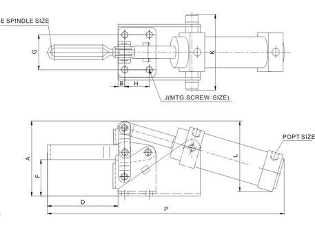 Zeichnung CH-12265-A und CH-12275-A