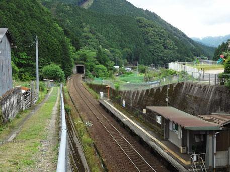 智頭急行線「山郷駅」