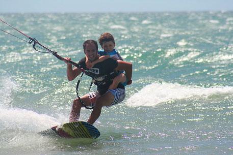 Kitesurfing in Praia do Prea