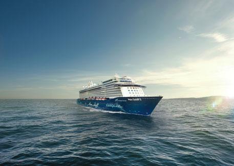 Das Reisejahr 2021 nimmt bei TUI Cruises Fahrt auf