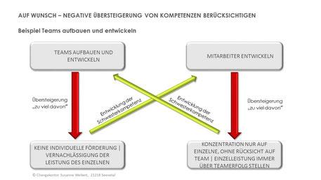 Kompetenzmodell - Übertriebene Kompetenzen - das richtige Maß