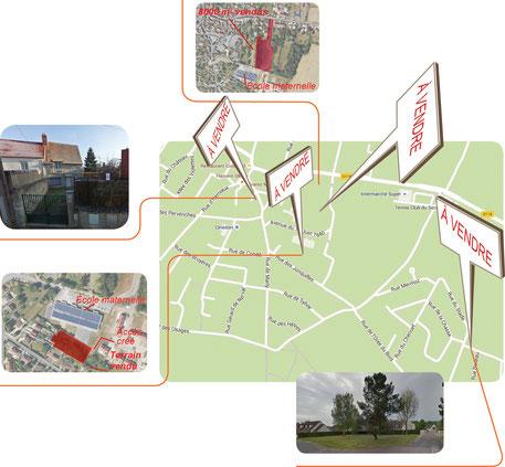 Carte d'Orry-bourg - cliquer pour agrandir