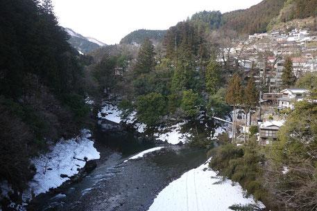 昭和橋より氷川渓谷