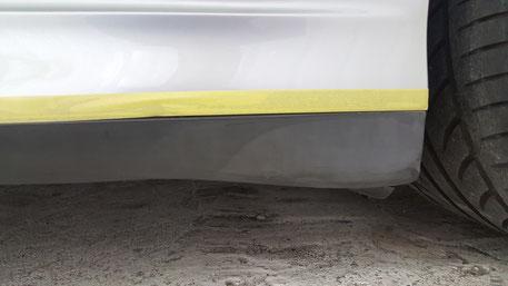 996ターボ樹脂パーツの白ボケ 白化