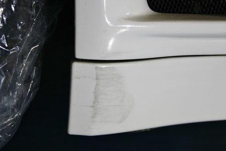 BNR34のフロントバンパー擦り傷