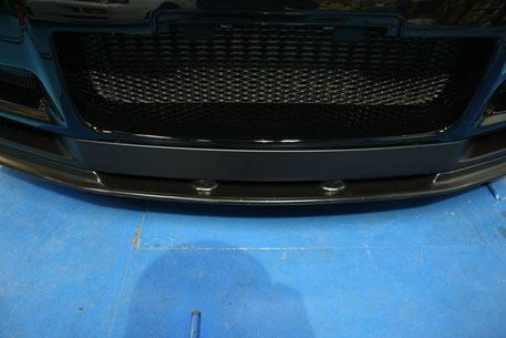 BNR34Mスペック 樹脂パーツのガラスコーティング 埼玉所沢 川口 GT‐Rの磨き 傷除去 狭山 深谷