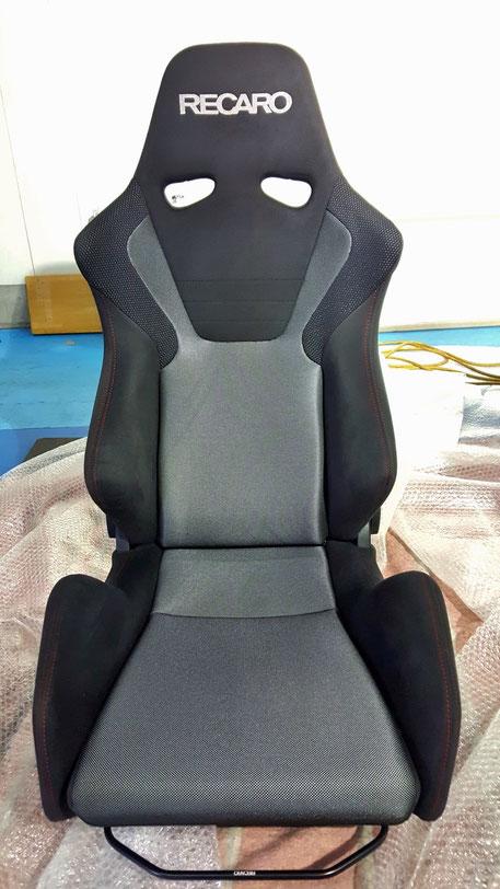 レカロSR‐6洗浄クリーニング後 運転席