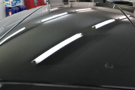 996ターボの雨染みクレーター除去