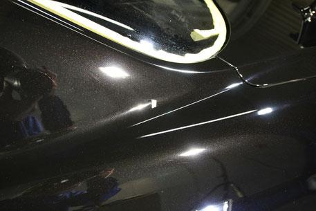 GT-Rのガラスコーティング 傷消し 埼玉 浦和 新座 上尾 川口