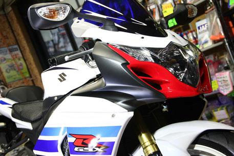 埼玉のバイク磨き店 R1000のコーティングメンテナンス