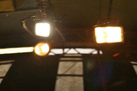 996GT3R黒ソリッドの傷消し磨き後