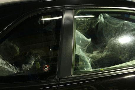 GT‐Rのガラスコーティング 所沢の車磨き専門店 練馬 雨染み除去 越谷 横浜 BNR34樹脂パーツのコーティング