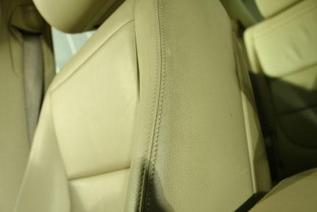 ジャガーのシートクリーニング 運転席