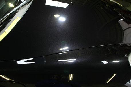 ポルシェの傷消し 雨染み除去 埼玉の車磨き専門店