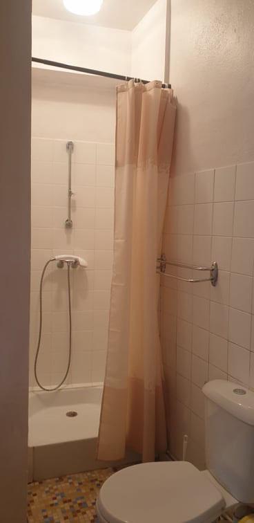 La salle d'eau.
