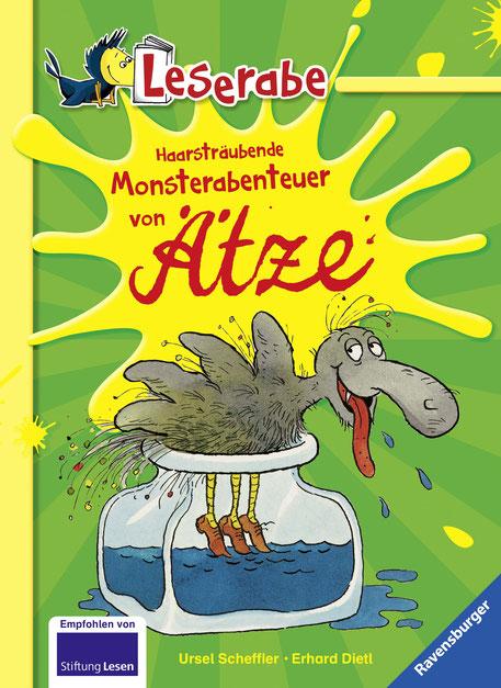 Haarsträubender Monsterabenteuer von Ätze 05|2018 Ravensburger