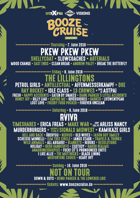 Booze Cruise Festival Hamburg 2018