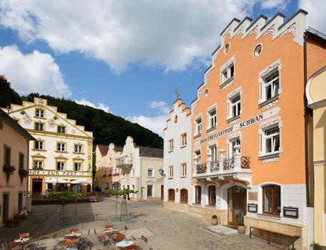 Restaurant Hotel Gasthof zur Post Riedenburg Marktplatz