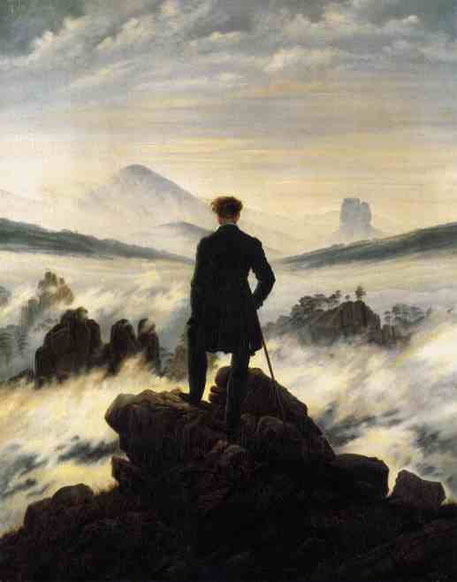 Странник над туманом. 1817-18