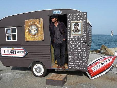 La caravane-Musée de Patrick Serc