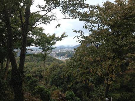 織田信長もここから、犬山城、岐阜城をみたとかみないとか・・・・