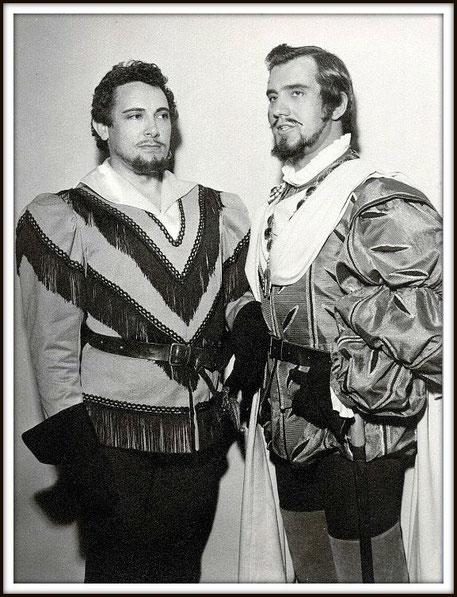 Don Carlo - ERNANI - con Mario Del Monaco - Firenze teatro Comunale 14.6.1957