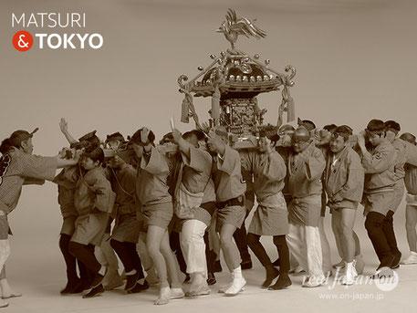みんなのTokyo 2020 3 Years to Go, Tokyo Experience , 収録協力, 神輿, まつり, スタジオ収録シーン