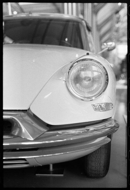 Citroen DS im Verkehrsmuseum München - APX 400 - XTol - Minolta XE-1