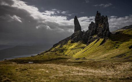 Fotoreise Isle of Skye, Blick zum Storr
