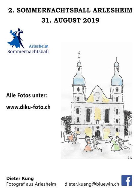 Flyer diku-foto.ch Sommernachtsball 2019