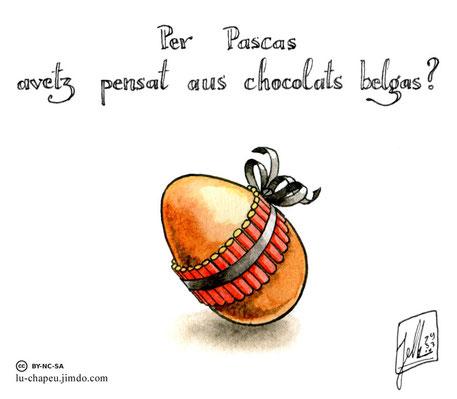 Pour Pâques, vous avez pensé aux chocolats belges ?