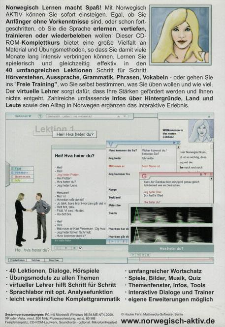 Rezension Norwegisch aktiv Lernsoftware