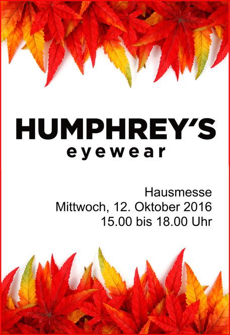 Humphrey's Eyewear exklusiv in Spremberg bei Ihrem Optiker