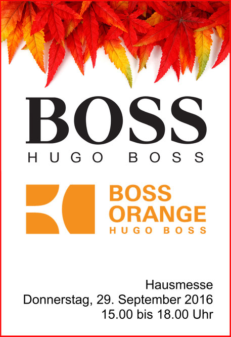 HUGO BOSS exklusiv in Spremberg bei Ihrem Optiker