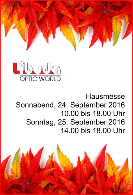 Libuda Optic World exklusiv in Spremberg bei Ihrem Optiker