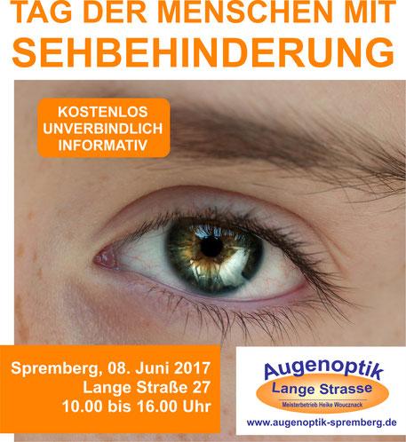 Tag der Menschen mit Sehbehinderung 2017 in Spremberg