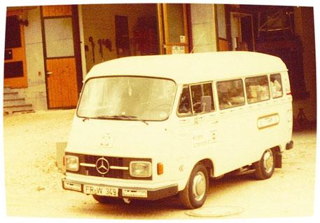 Erster Lieferwagen 1974