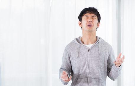 立っていると腰が痛い奈良県上牧町の男性