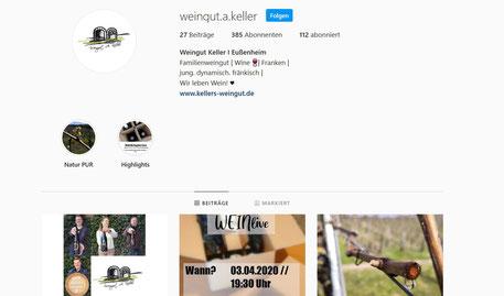 Weingut A. Keller auf Instagram
