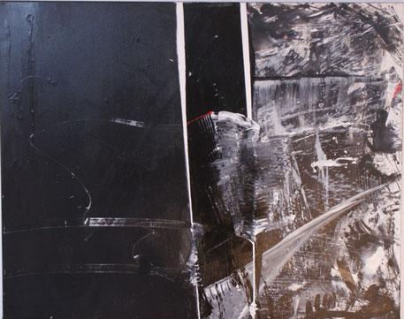 """""""Symphonie""""  80x100  Acryl auf Leinwand 2008"""