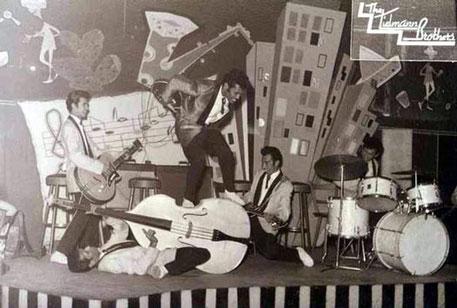 The Tielman Brothers at dancing Westhof, Heidelberg 1960